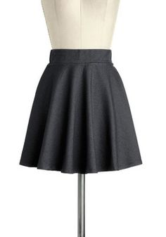 $27.99 Hangout and About Skirt in Night, #ModCloth