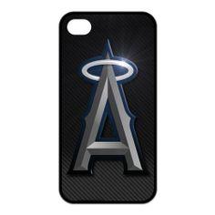 6a41430ced MLB Baseball Logo Los Angeles Angels of Anaheim Wearproof   Sleek  iPhone4 4s Case -
