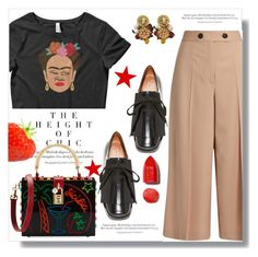 """Frida"" by queenvirgo ❤ liked on Polyvore featuring Marni, Proenza Schouler, Dolce&Gabbana, NARS Cosmetics and fridakhalo"