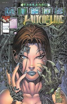 Darkminds / Witchblade __Written By David Wohl , Art By Pat Lee, Cover Art Marc Silvestri , The Story __There's a serial killer plaguing Macropolis and it's up to the newly-created cyborg Nakiko to di