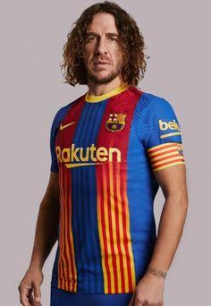 Barcelona Unveil New Special Edition Shirt For El Clasico - SoccerBible Fc Barcelona, Barcelona Jerseys, Classic Football Shirts, Vintage Football Shirts, Football Outfits, Football Kits, Dress Out, One Team, Stripes Design