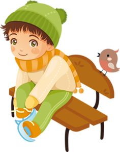 "Photo from album ""Дети зимой"" on Yandex. Winter Clipart, Winter Fun, Peter Pan, Luigi, Little Boys, Disney Characters, Fictional Characters, Mario, Clip Art"