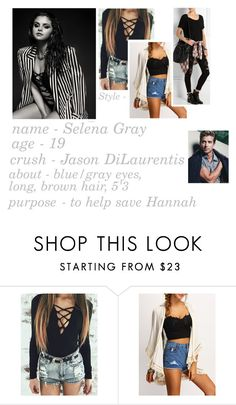 """About 'Selena' In Pretty Little Liars"" by caton-486 ❤ liked on Polyvore featuring Alexander Wang"
