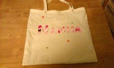 Bag for my mum from my boys (front)