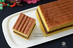 Coco's Sweet Tooth ......The Furry Bakers: 苏拉巴亚夹心蛋糕 Surabaya Layer Cake