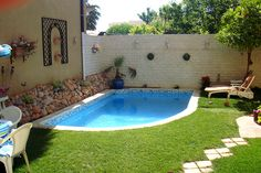Scroll down and you will see mini swimming pools that will charm your garden.