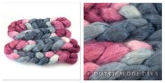 Love these colors! Midnight Desire [Kid_Mohair] - €8.25 : Dutch Wool Diva, for knitting, crochet, spinning and more!