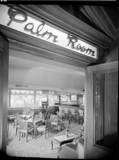 ICONIC HOTELS | THE AMBASSADOR HOTEL, 3400 Wilshire Boulevard, Los Angeles, CA  90010.  Pictued:  The Palm Room.