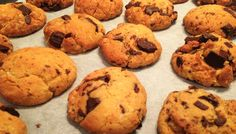 Cookies à la farine de pois chiche