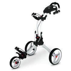 Clicgear Rovic RV3J Jr. Push Cart - Golf Clubs, Golf Equipment, Golf Shoes and More - Edwin Watts Golf Shop for the best in Golf Push Carts and More at  http://bestgolfpushcarts.net/product-category/golf-push-carts/bag-boy/