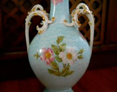 FABULOUS Limoges Porcelain Vase with Hand by TheBohemianVintage, $625.00