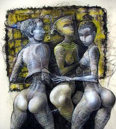 (47) Одноклассники Comic Art Girls, Figure Sketching, Erotic Art, Art Google, Black Art, Art World, Art Tutorials, Female Art, Les Oeuvres