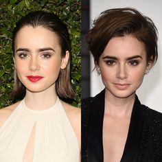 We're pretty obsessed with celebrities but we're especially hooked on watching the constantly changing coifs of Hollywood. Last year was a wild one for celebrity strands, so we can't wait to see how 2015 shapes up with Lily Collins