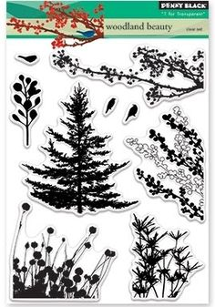 Yes, Virginia...: Create a Forest with One Tree Stamp