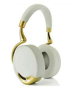 Parrot  - Zik by Starck Yellow Gold - 299 € TTC - Casque audio by ToneMove