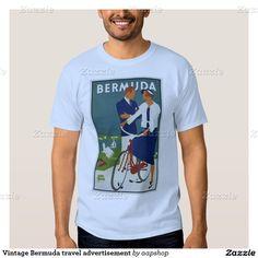 Vintage Bermuda travel advertisement Shirts and more