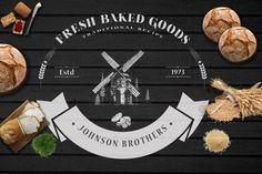 Vintage Bakery Logo