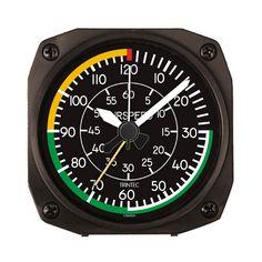 "DM21 - 3.5"" Airspeed Desk Model Alarm Clock - $27.95"