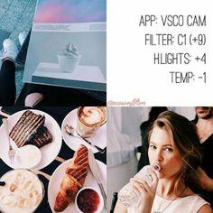 VSCO Cam Filter Settings for Instagram Photos   Filter C1
