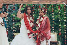 SHANNON + SEEMA   INDIAN LESBIAN WEDDING   LOS ANGELES, CA.
