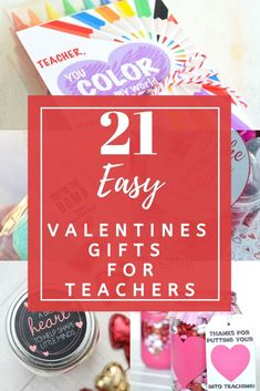 Show that special teacher just how much you appreciate them with these gorgeous valentines gifts for teachers. Easy to make gifts teacher will love to get. #valentines #valentinesgifts #teachersgifts #valentinesforteachers #teachergiftideas