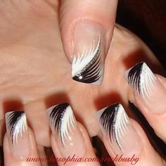 Black & White Swish www.liasophia.com/trishbusby