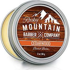 Shaving Cream for Men – With Natural Sandalwood Essential Oil – 5 oz Hydrating, Anti-inflammatory Rich & Thick Lather for Sensitive Skin & All Skin Types by Rocky Mountain Barber Company – 5 Ounce Natural Shaving Cream, Best Shaving Cream, Sandalwood Essential Oil, Essential Oils, Best Beard Balm, Beard Butter, Beard Grooming, Beard Care, Beard Growth