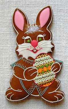 Iced Cookies, Easter Cookies, Halloween Christmas, Cookie Decorating, Cake, Desserts, Ideas, Food, Rabbits
