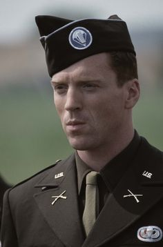 Damien Lewis as Dick Winters in Band of Brothers.