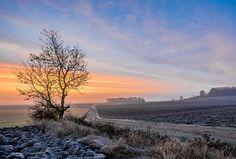 Bourcq-Bas au lever du jour © Dominique LEMOINE #Ardennes #France