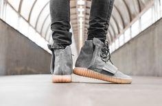 Beauty Shots Of The adidas Yeezy Boost 750 Grey Gum on http://SneakersCartel.com | #sneakers #shoes #kicks #jordan #lebron #nba #nike #adidas #reebok #airjordan #sneakerhead #fashion #sneakerscartel