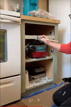 How To Repaint Kitchen Cabinets - Painted by Kayla Payne Happy Paintings, Cool Paintings, Best Paint Stripper, Repainting Kitchen Cabinets, Do It Yourself Inspiration, Kitchen Cabinet Organization, Upper Cabinets, Painting Cabinets, Paint Cans