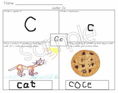 Two Fulbright Hugs ~ Teacher Time Savers: Introducing each Letter with a Graphic Organizer