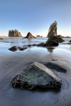 Pacific Northwest, LaPush, Washington.  I caught my first salmon here and ate it the same night!