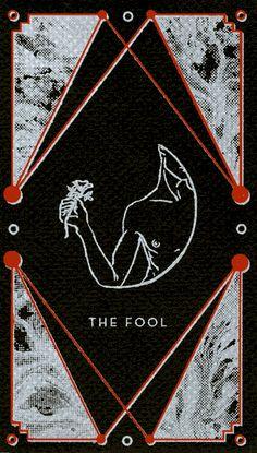 Animated GIF: Tarot Cards by Emma J. Baker † #illustration #occult #cartomancy #divination #okkvlt #esotericism #mysticism #Tarot #TarotCards #EJBaker #EmmaJBaker