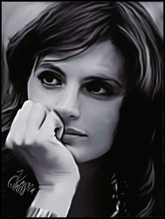 verusworldofart:  Stana Katic - For Lovers Only  A gift for a special girl in my FB friendlist.. ;)    I'm lost for words, honey!!! Kisses!!!! ♥