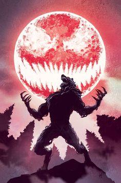 Carnage & Werewolf by Night - Mike Del Mundo