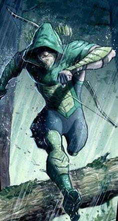 Green Arrow by Juan Ferreyra Dc Comics Characters, Dc Comics Art, Marvel Dc Comics, Green Arrow, Comic Books Art, Comic Art, Arrow Comic, Arrow Black Canary, Arrow Art