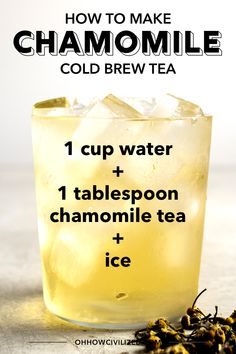 Chamomile tea is a popular herbal drink made from dried chamomile flowers steeped in water. See how to make this caffeine-free herbal tea. Chamomile Tea Benefits, Tea For Bloating, Real Food Recipes, Real Foods, Iced Tea Recipes, Cold Home Remedies, Tea Latte, Tea Sandwiches, Brewing Tea