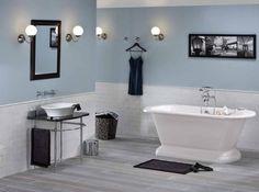 Salle de bains feminine cas