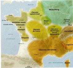 3- Néolithique - Emergence des premières sociétés complexes (4300-3500 BE) - (source : La révolution néolithique en France - INRAP La Découverte)