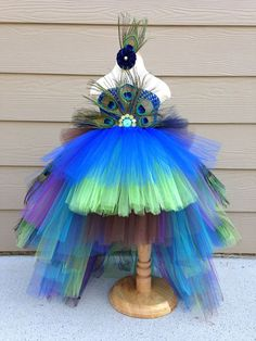 Hey, I found this really awesome Etsy listing at http://www.etsy.com/listing/164761400/peacock-tutu-costume-pageant-party