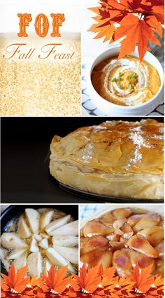 Fall Dinner Party Menu-Chicken Bastilla is a possibility for the main course