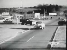 1950's - Hwy 41 North bound lanes looking southwest at Radar Cir. and Roswell Rd. Miss Georgia Ice Cream on the left.  — in Marietta, Georgia.