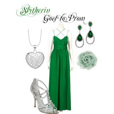 Slytherin Goes to Prom, created by nearlysamantha on Polyvore
