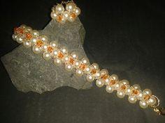 Perlen Armband und Ring