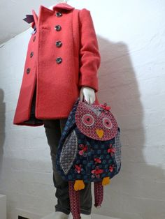 Little girls will love this owl backpack for back to school from Monsoon kidswear for fall 2014