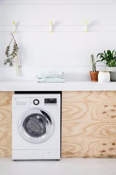 "Learn even more info on ""laundry room storage diy"". Look at our site. Compact Laundry, Small Laundry Rooms, Laundry Room Organization, Closet Storage, Diy Storage, Storage Spaces, European Laundry, Laundry Cabinets, Laundry Room Design"