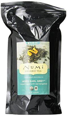 Numi Organic Tea Aged Earl Grey, Italian Bergamot Black Tea, Loose Leaf, 16 Ounce Bag - http://goodvibeorganics.com/numi-organic-tea-aged-earl-grey-italian-bergamot-black-tea-loose-leaf-16-ounce-bag/