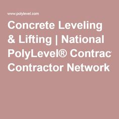 PolyLevel™ is a high quality self-leveling and lifting foam that is much more effective and affordable than mud-jacking and concrete replacement. Contact your local PolyLevel™ contractor today for a free estimate! Concrete Lifting, Stamped Concrete, Home Repairs, Mud, Garage, Construction, Tools, Amazing, Ideas